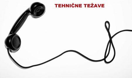 TELEFON – Tehnične težave