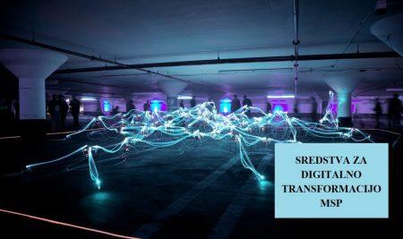 Javni razpis – Spodbude za digitalno transformacijo MSP (P4D-C19)
