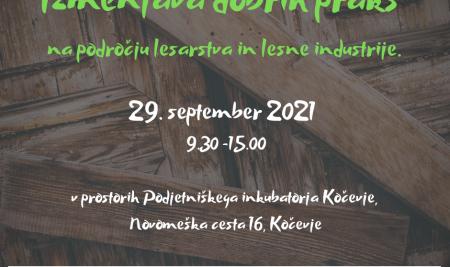 Izmenjava dobrih praks na področju lesarstva in lesne industrije